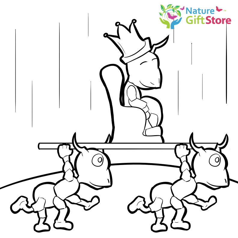 Bug Museum - Bug Coloring Pages - Ant (15)