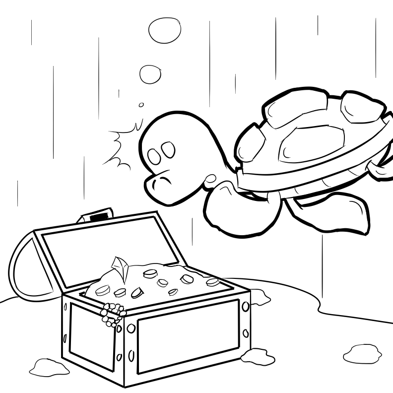 Bug Museum - Reptile Coloring Pages - Turtles (9)