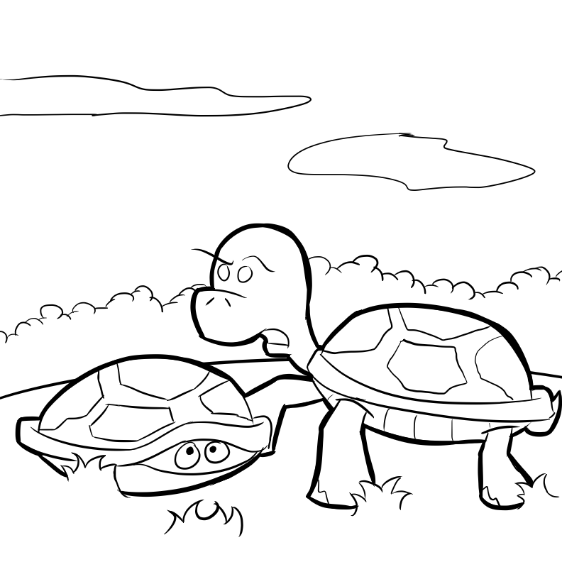 Bug Museum Reptile Coloring Pages Turtles 7